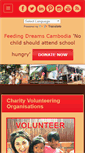 Mobile Preview of feedingdreamscambodia.org
